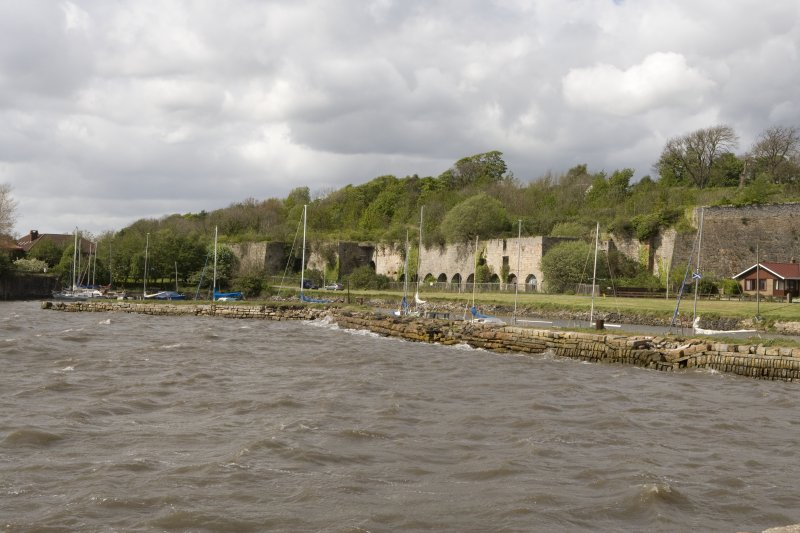Limekilns, general view from ESE