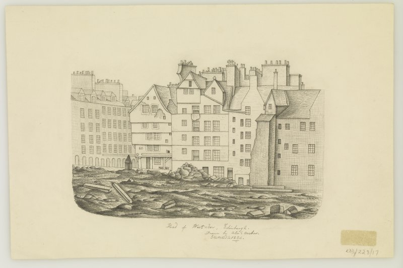 Sketch view of Upper Bow, General by Alexander Archer