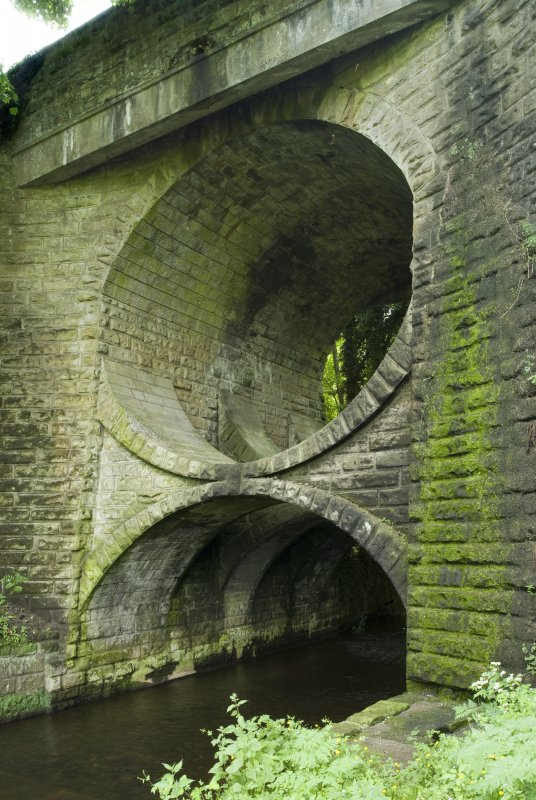 View showing double arched structure