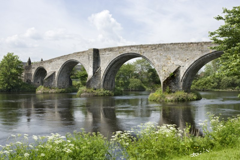 View of Stirling Old Bridge from SE