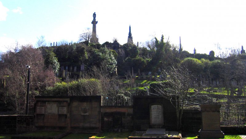 General view of churchyard skyline.