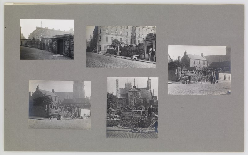 Corner of Chapel Street and West Nicolson Street. Edinburgh Photographic Society Survey of Edinburgh and District, Ward XIV George Square