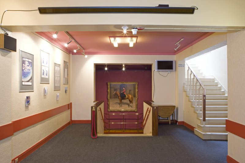 View of main hallway in Arts Guild Theatre, Campbell Street, Greenock.