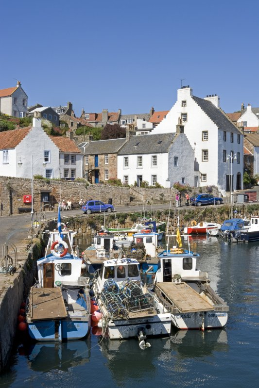Fife, Crail, Shoregate. Viewed from the SW.