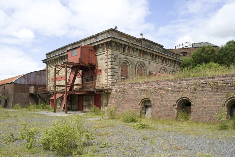 Generator-house, view from S