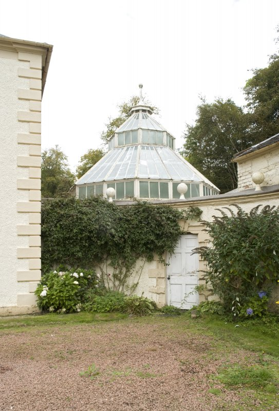 Conservatory, view from SW