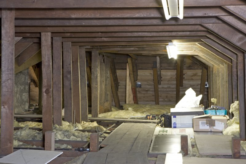 Interior. View of roof space