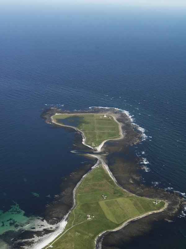 General oblique aerial view towards Start Point lighthouse, taken from the W.