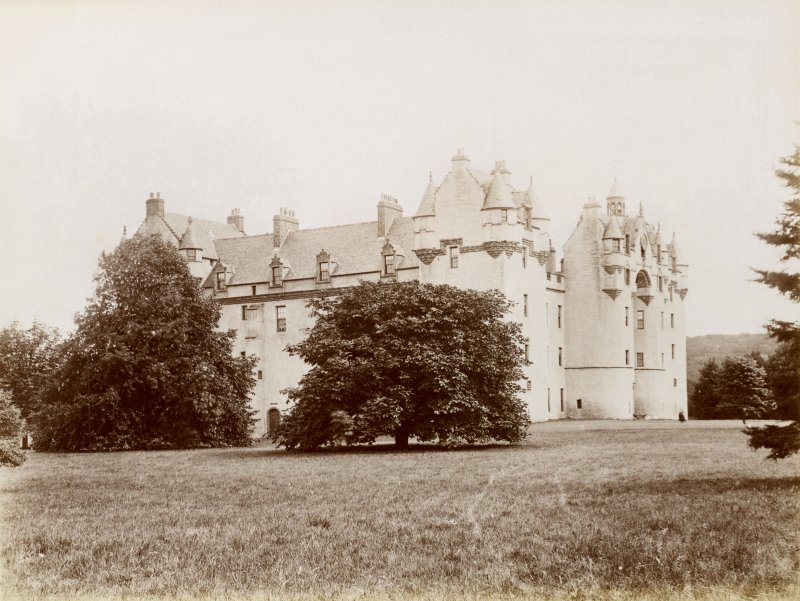 General view of Fyvie Castle.