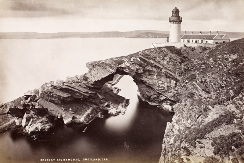 General view of Bressay lighthouse, Shetland