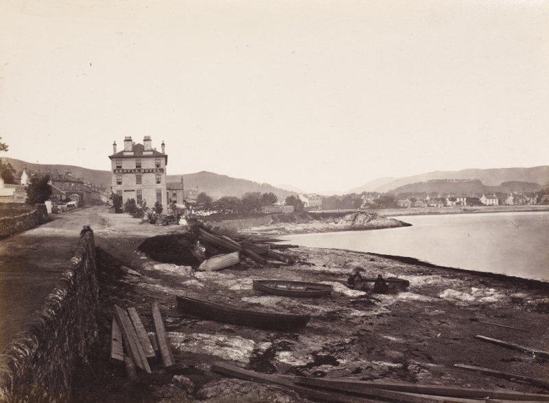Dunoon, East bay. Album 146, p.15. Two general views of the bay.