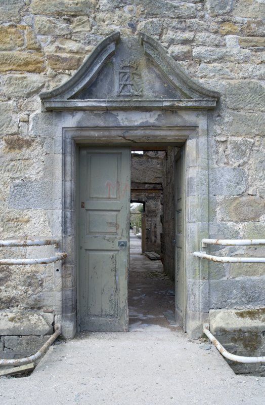 View of E doorway