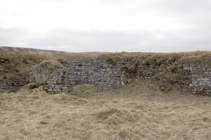 SE turret, view from centre of courtyard (panorama image 14)