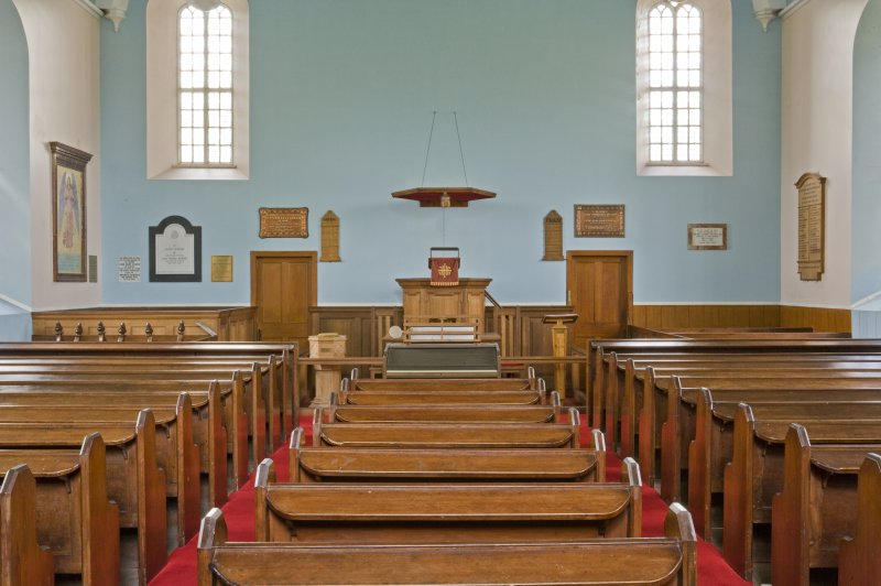 Interior. View from SSW