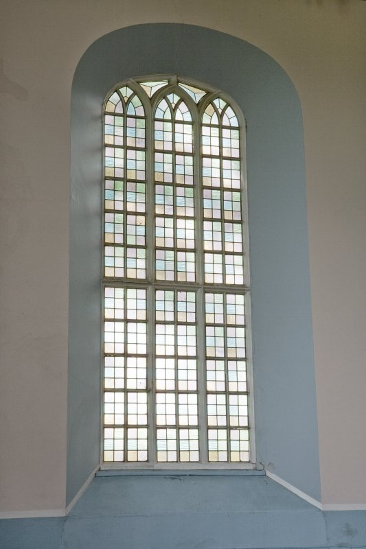 Interior. Typical window. Detail