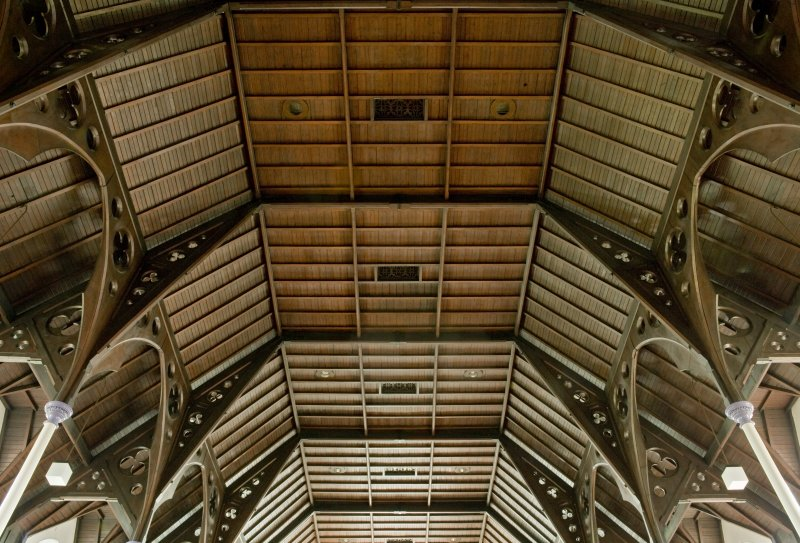 Ceiling structure. Dalziell High Parish Church, Motherwell.