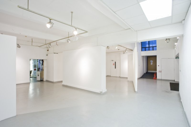 General view of ground floor exhibition area within Newbery Tower