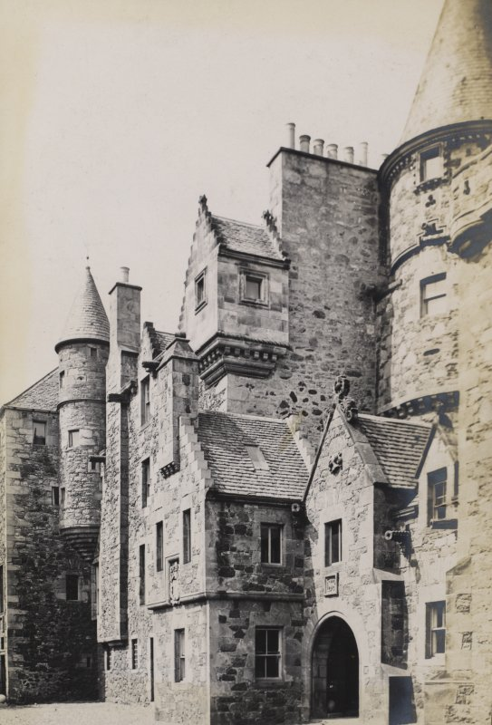 View of Craigentinny House, Edinburgh.
