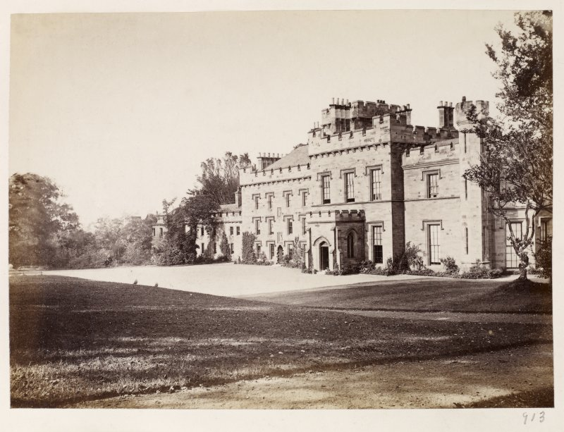Page 34/3. General view of Wishaw House from NW. PHOTOGRAPH ALBUM No 146: THETHOMAS ANNAN ALBUM