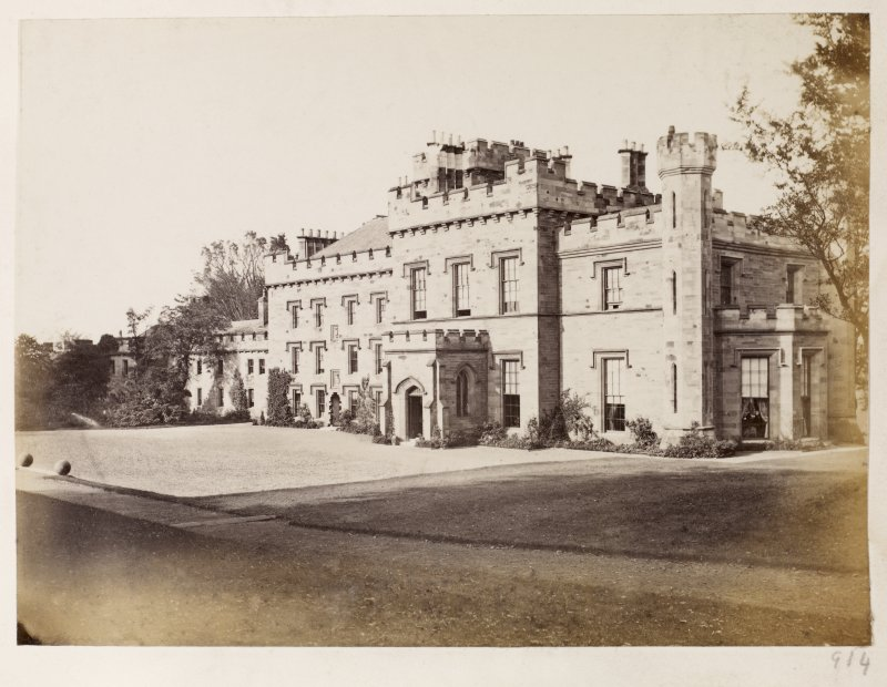 Page 34/4. General view of Wishaw House from NW. PHOTOGRAPH ALBUM No 146: THE THOMAS ANNAN ALBUM