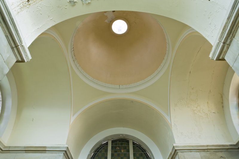 Interior. Domed ceiling and pendentives.