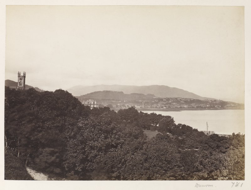 Page 15/2 View of East bay Dunoon. Titled 'Dunoon.' PHOTOGRAPH ALBUM No.146: THE THOMAS ANNAN ALBUM