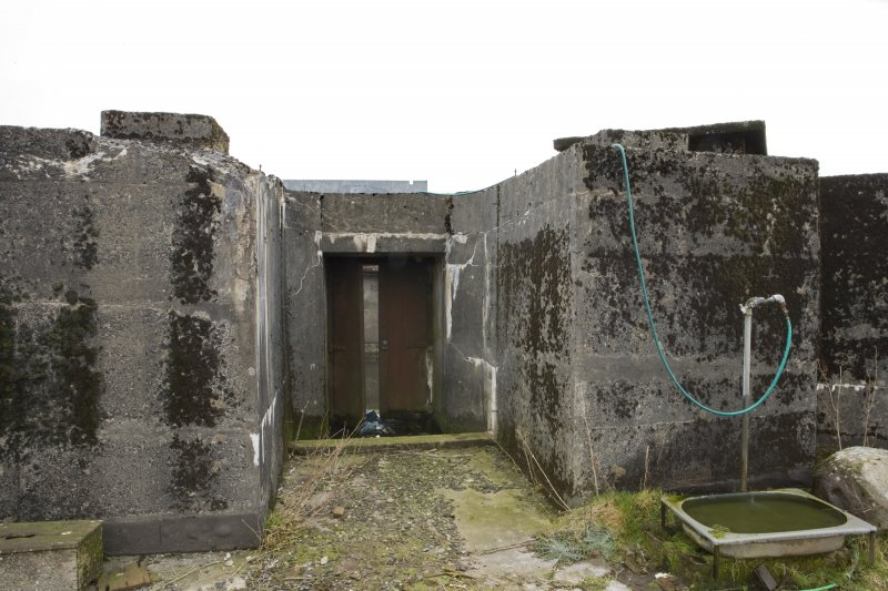 Battery No 3. Entrance. Detail