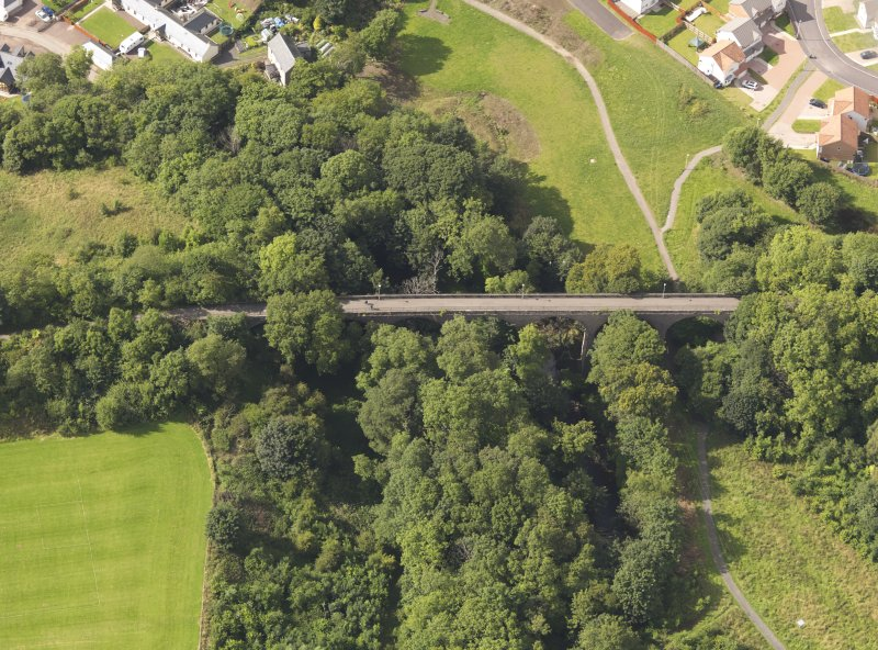 Oblique aerial view of the viaduct taken from the SE.
