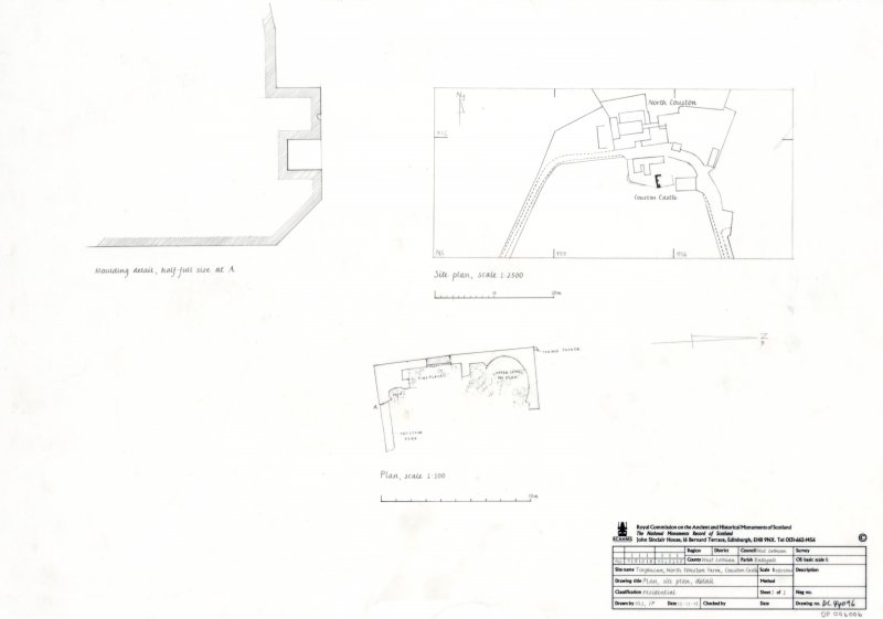 Plan, Site Plan and Detail