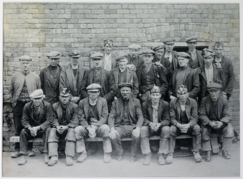Copy of image: workforce at Birkhill c.1930