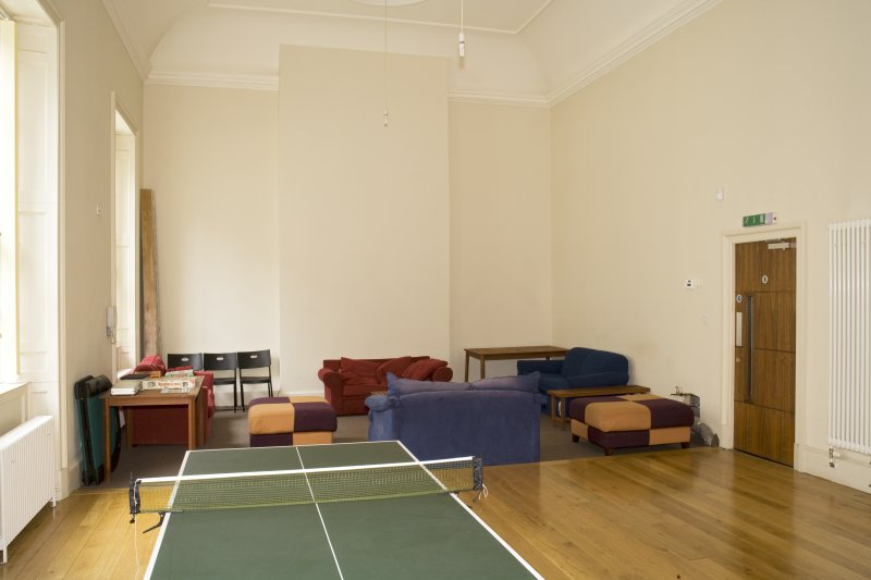 Interior. First floor. Games room from south east.