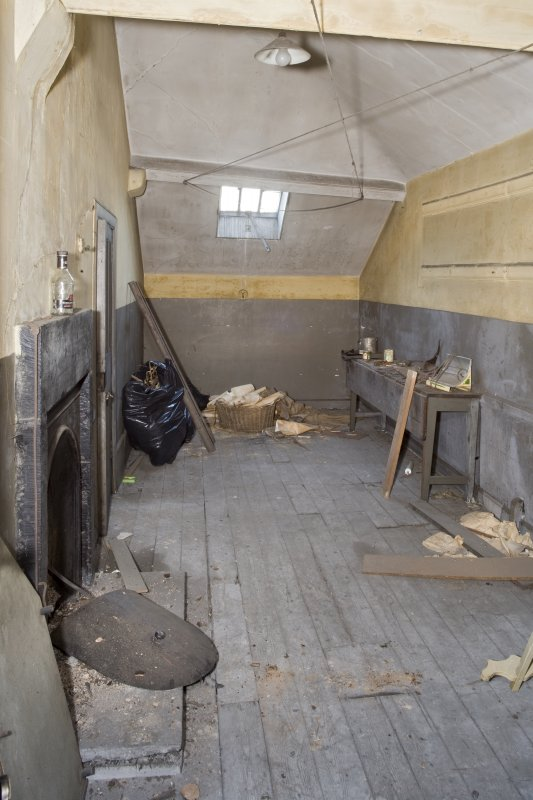 Harbour Chambers. Interior. Attic. Workroom