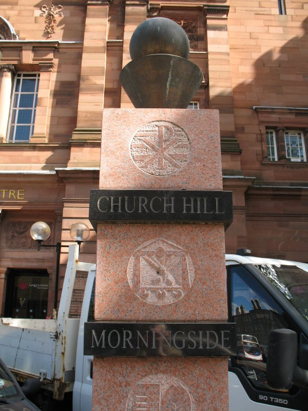 View of Church Hill Milestones.