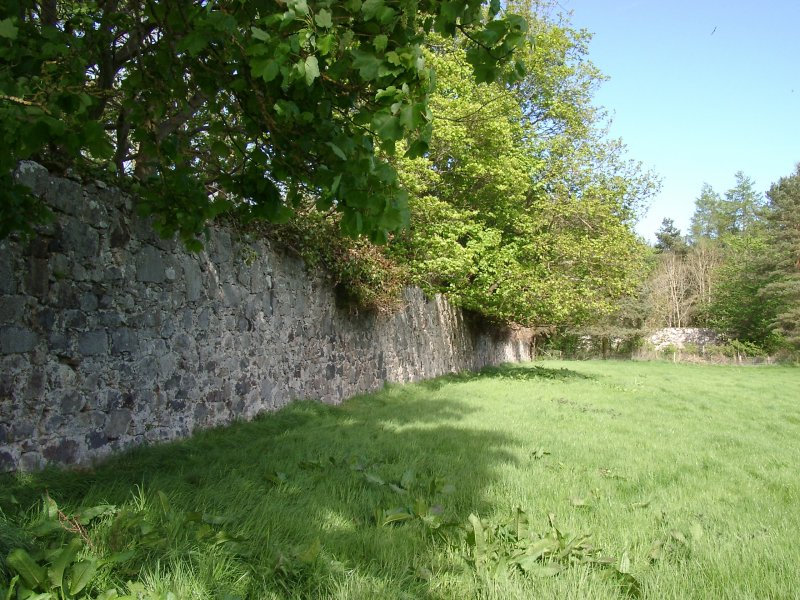 Rothiemay Castle: walled garden