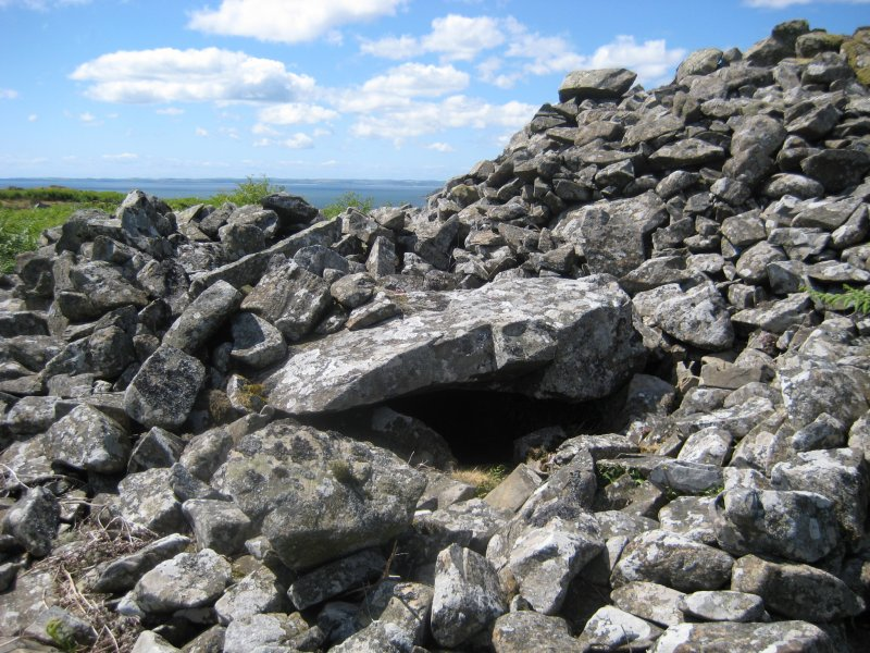 Green House Bridge - exposed cist - Cairn A