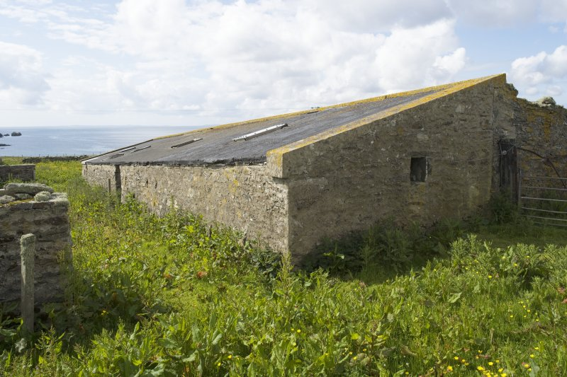 Byre to E of house, view from NE