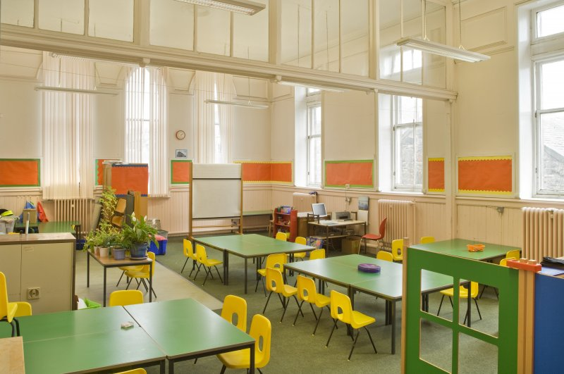 Interior. 1st floor. Primary 1 classroom