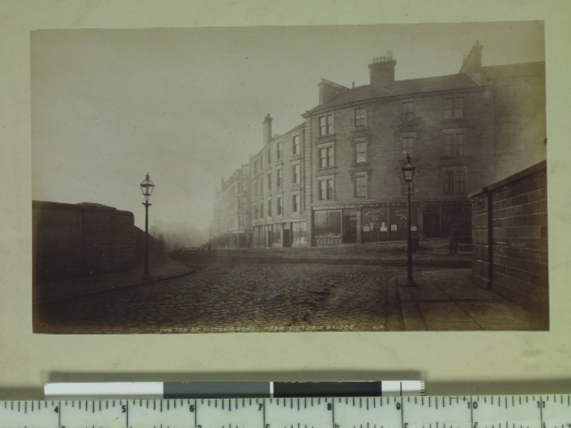 The top of Victoria Road, from  Victoria Bridge, J,V. PHOTOGRAPH ALBUM No.67: Dundee Valentine Album.