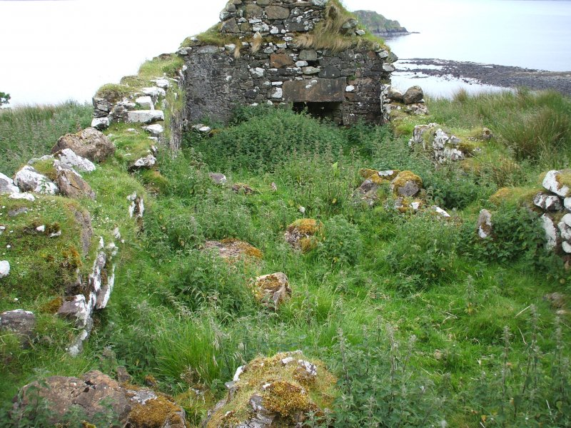 North Holm: building 1 interior viewed from the W