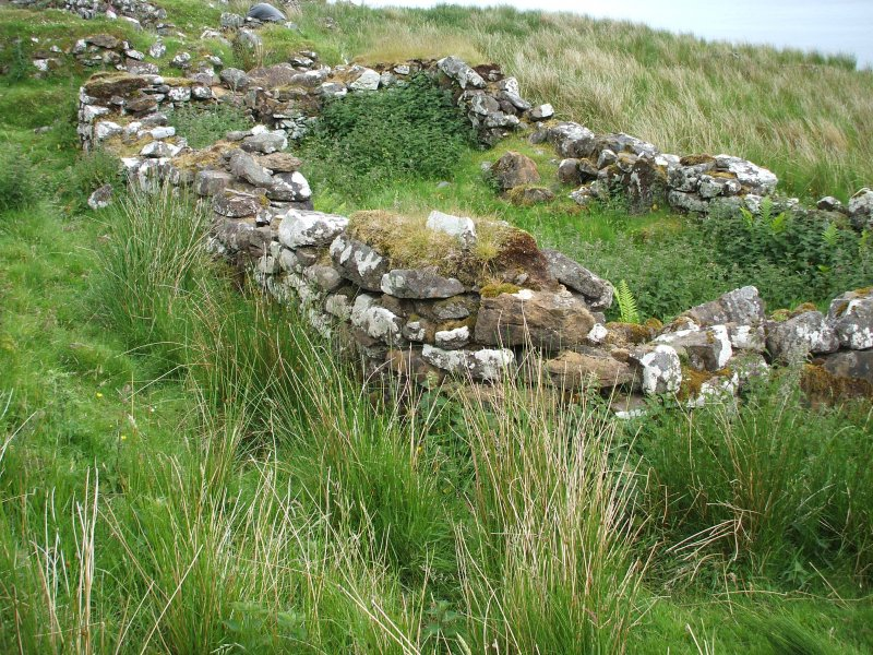 North Holm: building 3 viewed from the SW; S wall of building 2 to rear