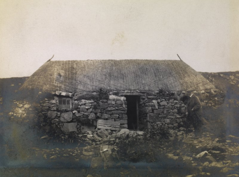 View of Obbe cottage, Harris