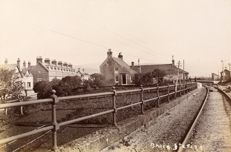 View of Brora Station, Brora.