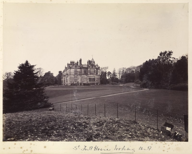 General view of St Fort House from the west. Since demolished.