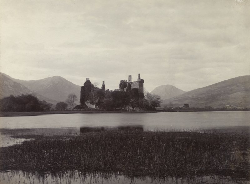 View of Kilchurn Castle, Loch Awe.