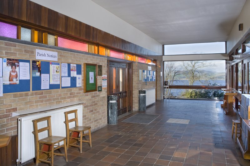 Interior. Entrance lobby fromsouth south east.