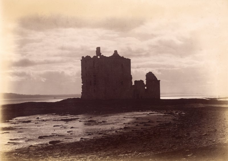View of Rosyth Castle Titled: 'Same' (refers to previous page PA 7/8v).