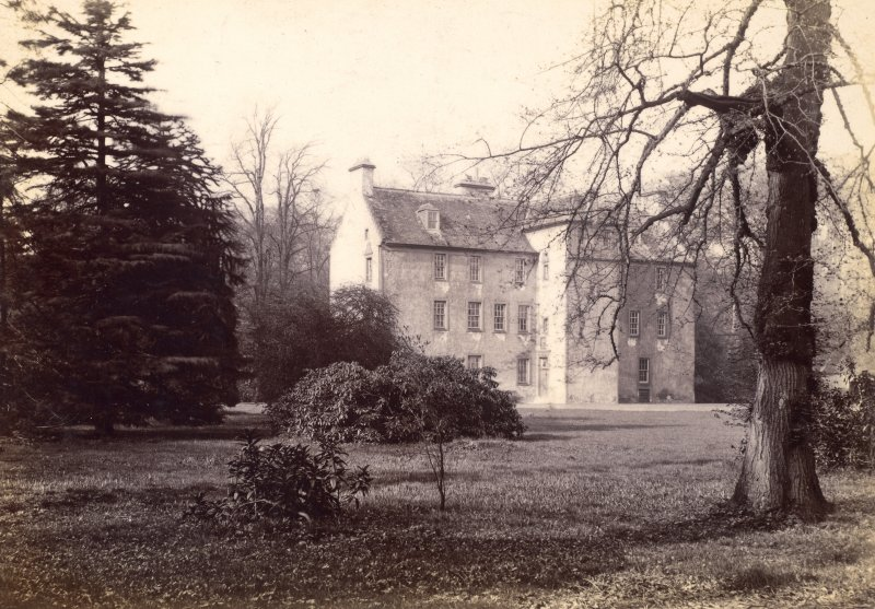 General view of house Titled: 'Pittencrieff Ho. Dunfermline.'