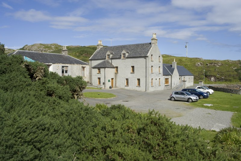 View of Rodel Hotel, Harris, from south-west.