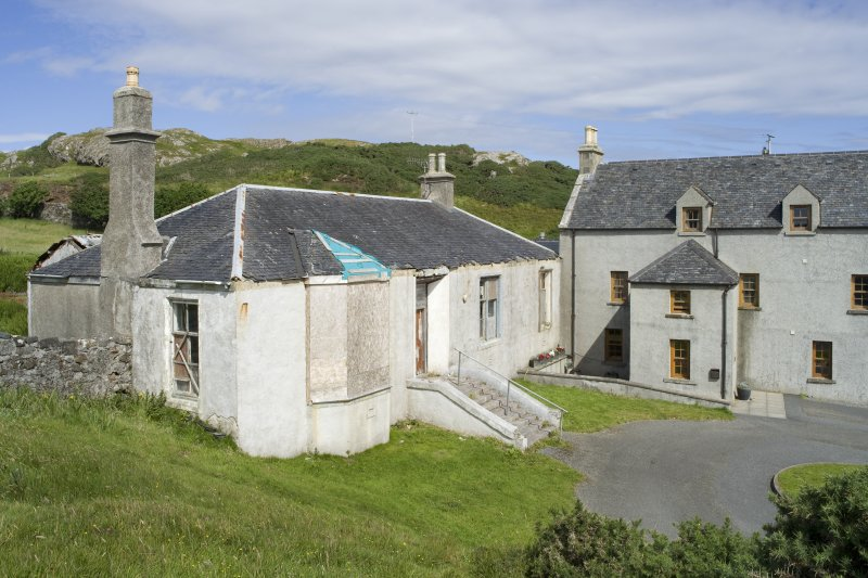 View of Rodel Hotel, Harris, from south-south-west.