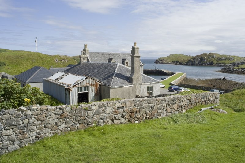 View of Rodel Hotel, Harris, from west-north-west.